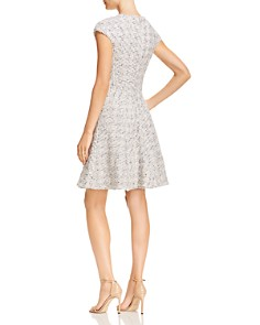Rebecca Taylor - Speckled Tweed Fit-and-Flare Dress